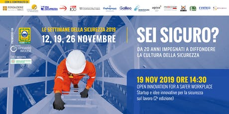 Open Innovation for a safer workplace - Startup e idee innovative (2a ed.) biglietti