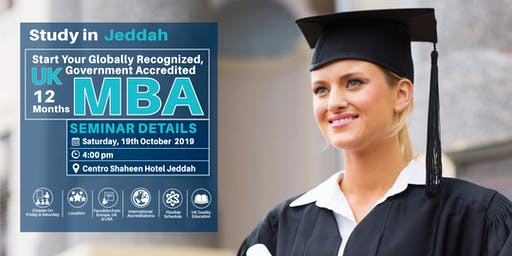 Jeddah MBA Seminar - 19th October 2019