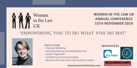 Women in the Law UK Annual Conference 2019 in Manchester UK tickets