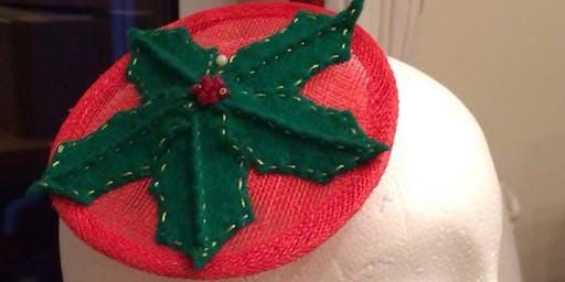 Make a Christmas Fascinator