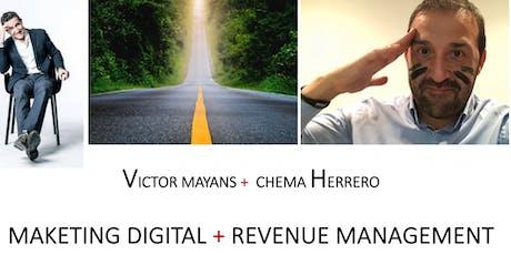 Marketing  + Revenue management : Los nuevos caminos del Sector turistíco tickets