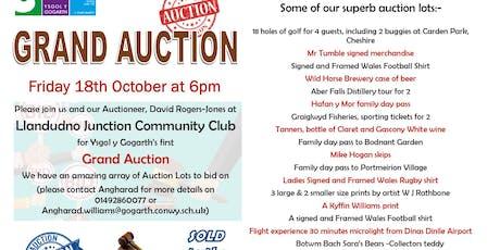 Ysgol Y Gogarth Fundraising Auction  tickets