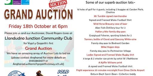 Ysgol Y Gogarth Fundraising Auction