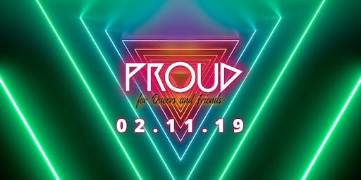 PROUD 3 ▲ Heidelberg's new QUEER dance event