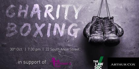 LawSoc Charity Boxing tickets