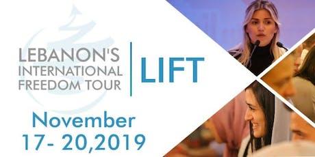 Lebanon's International Freedom Tour LIFT tickets