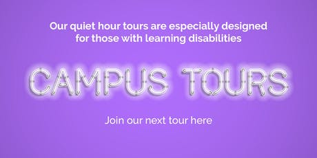 Supported Learning Campus Tour Wednesday 4 December 2019 tickets