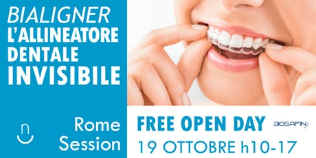 OPEN DAY - Consulenza Gratuita Allineatore Dentale Invisibile biglietti