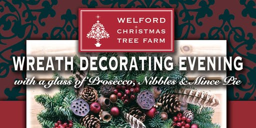 2019 Wreath Decorating Evening - Welford Christmas Tree Farm