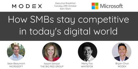 MODEX & Microsoft: How SMBs stay competitive in today's digital world tickets