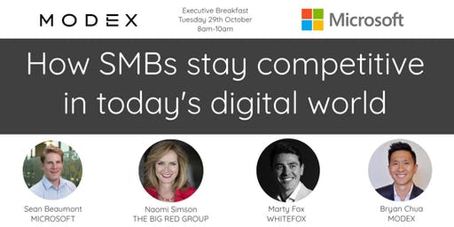 MODEX & Microsoft: How SMBs stay competitive in today's digital world