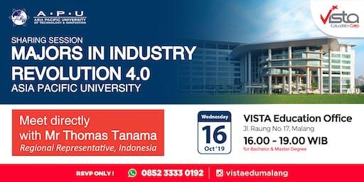 Sharing Session Majors in Industry Revolution 4.0
