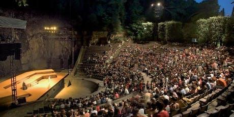 Meditacion del Sunset en el Teatro Griego entradas
