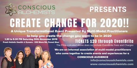 Create Change For 2020 tickets