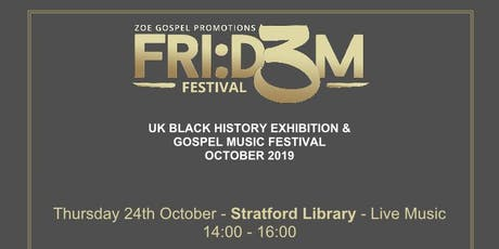 Fri:d3m Festival 2019: Black History & Gospel Music Festival tickets