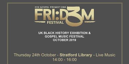 Fri:d3m Festival 2019: Black History & Gospel Music Festival