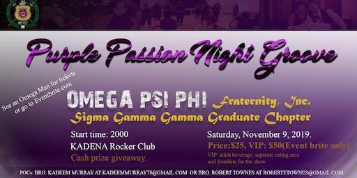 Sigma Gamma Gamma Purple Passion Night Groove
