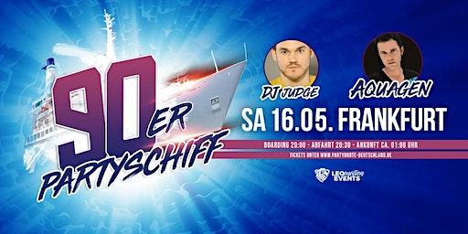 90er Partyschiff  - Frankfurt
