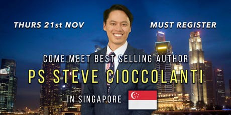 Come Meet Best Selling Author Pastor Steve Cioccolanti tickets