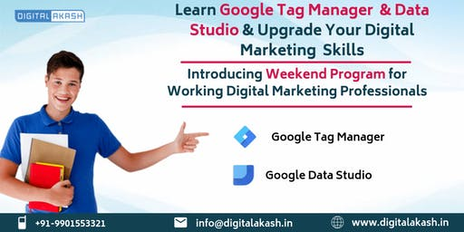 Google Tag Manager and Data Studio Training