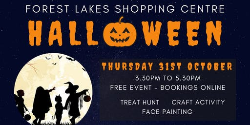 Forest Lakes Craft & Trick or Treat Event