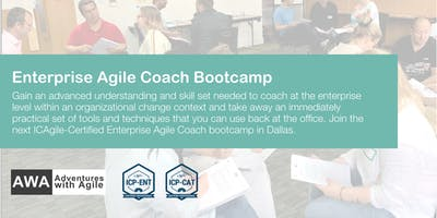 Enterprise Agile Coach Bootcamp (ICP-ENT & ICP-CAT) | Dallas - January 2020
