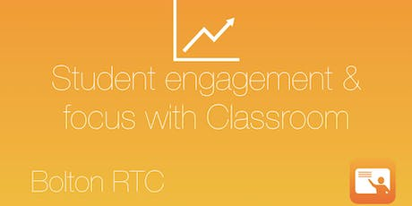 Student engagement and focus with Classroom tickets