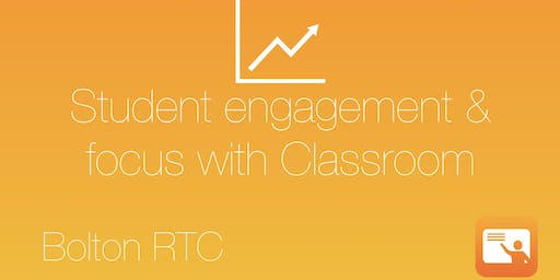 Student engagement and focus with Classroom