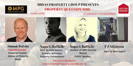 11th December Property Question Time  tickets