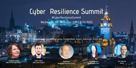 Cyber Resilience Summit: The Risks and Remedies of Cyber Attacks on SMEs tickets