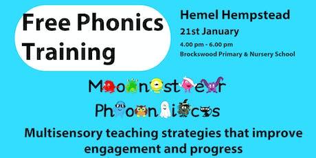 HEMEL HEMPSTEAD PHONICS TRAINING tickets