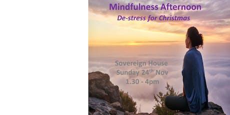 Christmas Mindfulness De-stress tickets