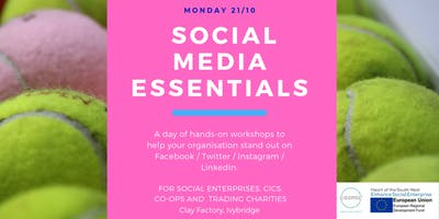Social Media Essentials - Clay Factory, Nr Ivybridge, Devon