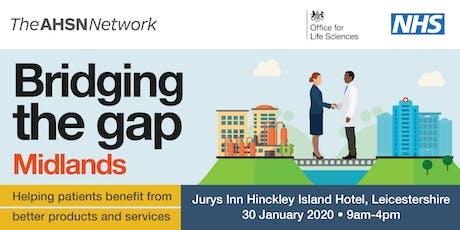 Bridging the Gap Midlands tickets