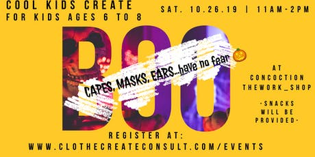 BOO! Capes, Masks and Ears tickets