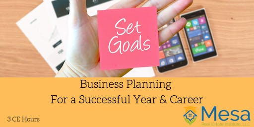 Business Planning for a Successful Year and Career