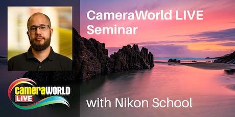 Landscape & Wildlife Seminars with Nikon School - CameraWorld Live 2019 tickets
