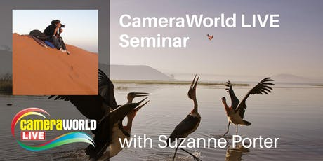 Suzanne Porter - Travel Photo Journalist | CameraWorld Live tickets