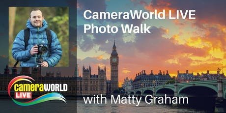 Photo Walk with Matty Graham  with FREE 32GB Memory Card - CameraWorld Live tickets