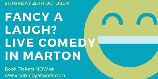 Live Stand Up Comedy in Marton, Nr Rugby
