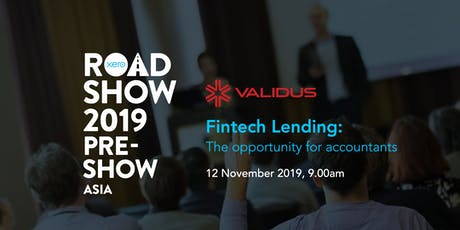 Fintech Lending: The Opportunity for Accountants  [Xero Roadshow 2019] tickets