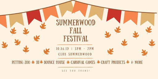 Summerwood Fall Festival 2019