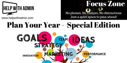 Focus Zone - Plan Your Year Special
