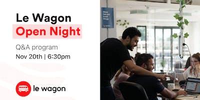 Le Wagon Open Night