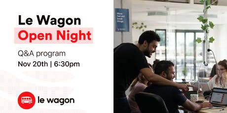 Le Wagon Open Night tickets