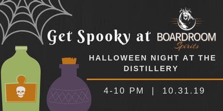 Halloween Night at the Boardroom tickets