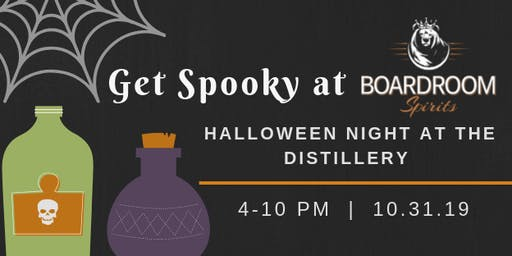 Halloween Night at the Boardroom