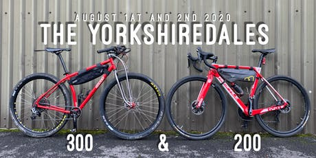 The 2020 Yorkshire Dales 300 or 200 individual time trial tickets