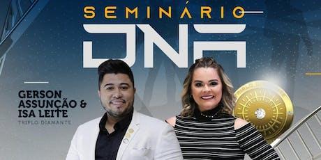 SEMINÁRIO DNA ARACAJU - NOVEMBRO 2019 ingressos