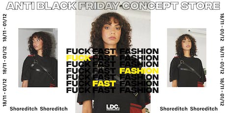 ANTI 'BLACK FRIDAY': Lone Design Club's Sustainable Concept Store + Events tickets